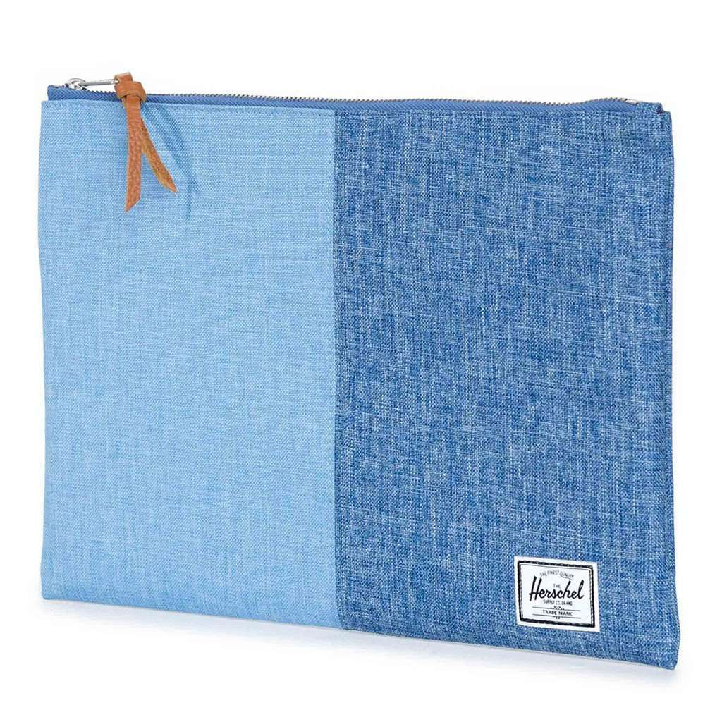 Clutches - XL Network Pouch In Chambray Crosshatch By Herschel Supply Co.