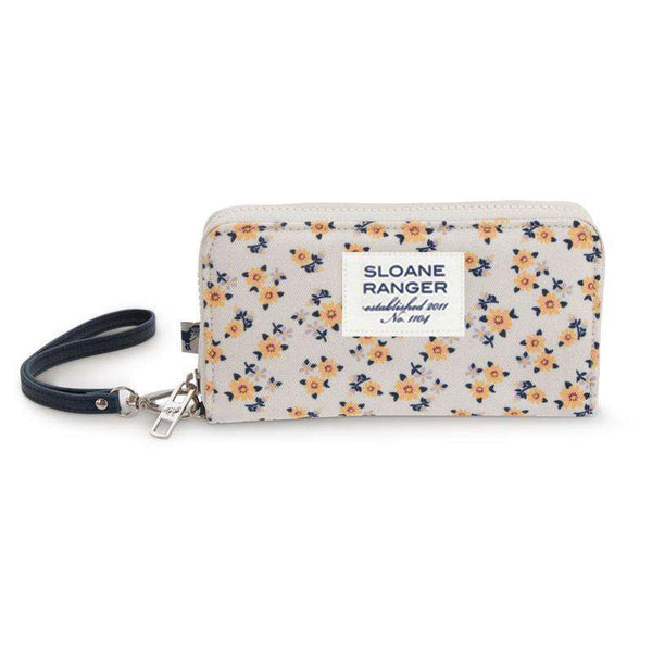 Yellow Ditzy Smartphone Wristlet by Sloane Ranger