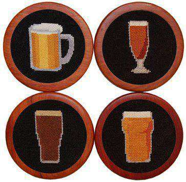 Coasters - Beer Coasters In Black By Smathers & Branson