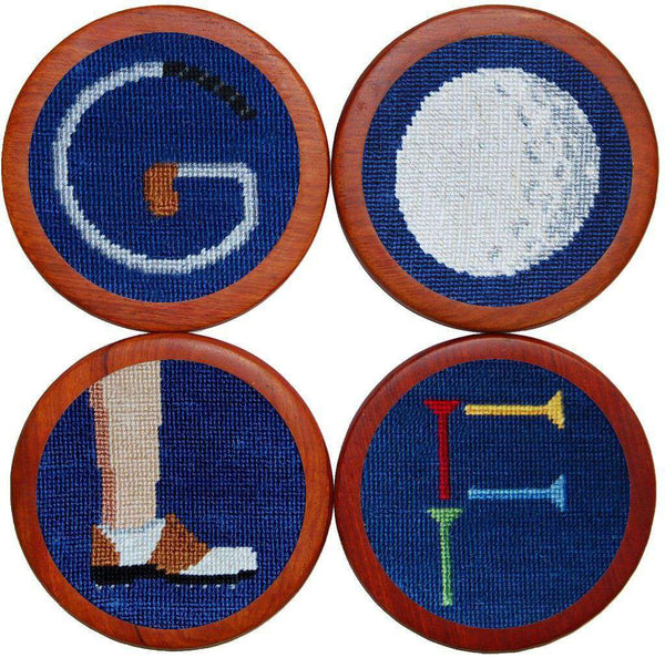 Coasters - Golf Coasters In Blue By Smathers & Branson