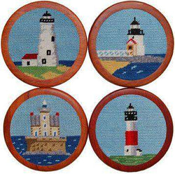 Coasters - Lighthouses Coasters In Blue By Smathers & Branson