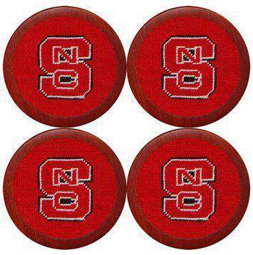 North Carolina State University Coasters in Red by Smathers & Branson
