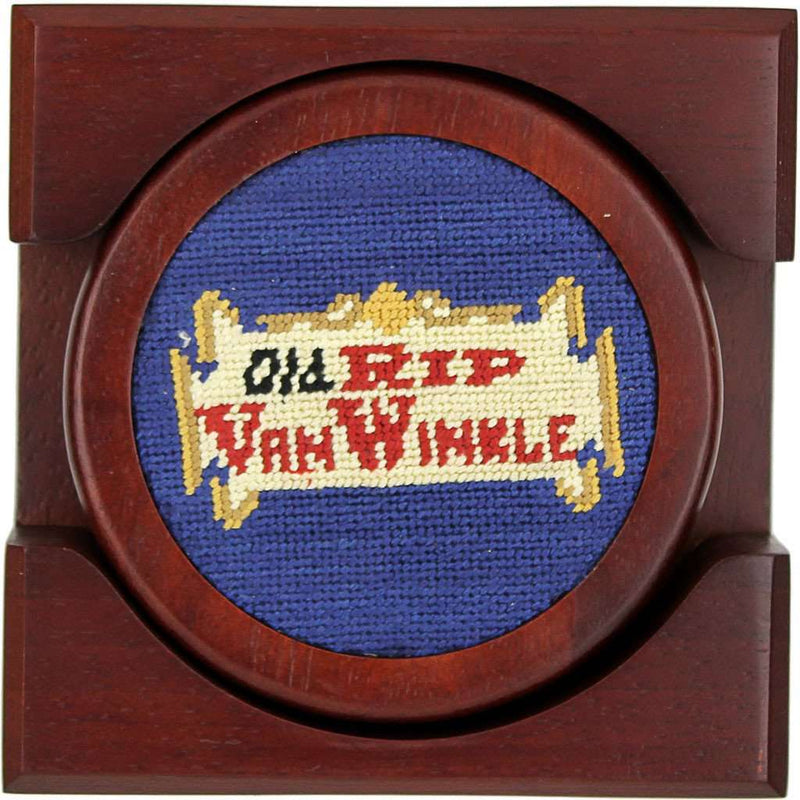 Coasters - Old Rip Van Winkle (Pappy Van Winkle) Coasters In Blue By Smathers & Branson