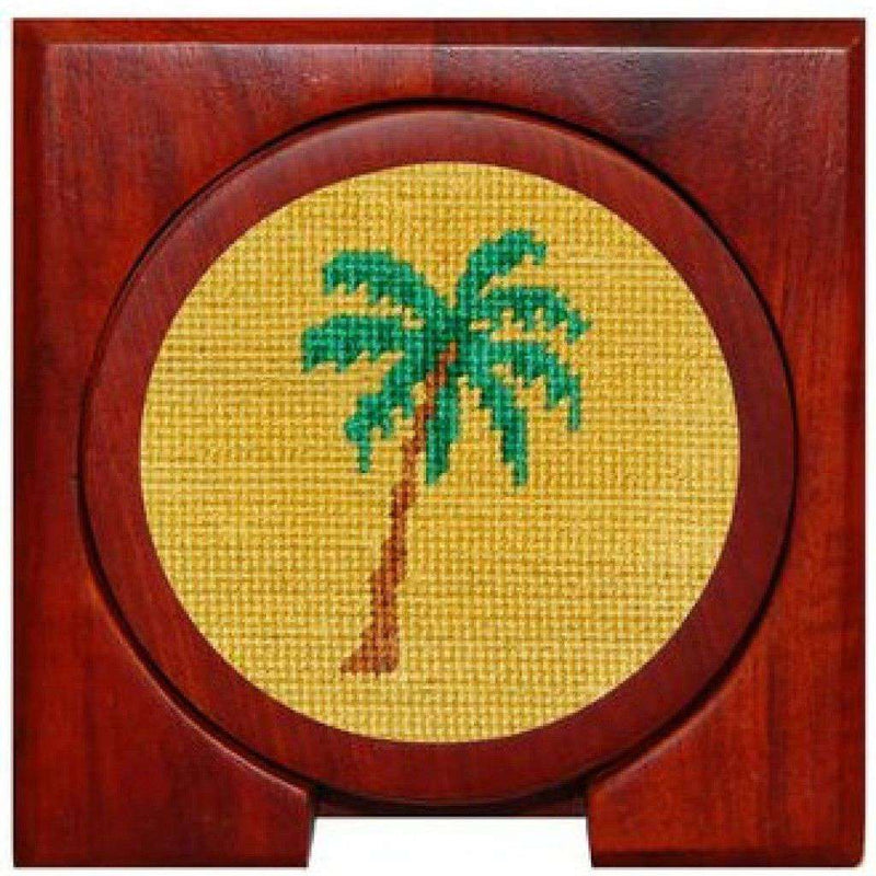 Coasters - Palm Tree Coasters In Multicolor By Smathers & Branson