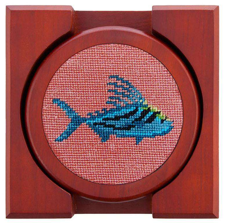 Coasters - Roosterfish Coasters In Bermuda Sand By Smathers & Branson
