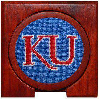 University of Kansas Coasters in Blue by Smathers & Branson
