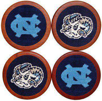 University of North Carolina Coasters in Navy Blue by Smathers & Branson
