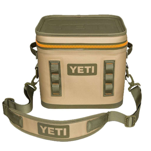 Coolers - Hopper Flip 12 In Field Tan And Blaze Orange By YETI
