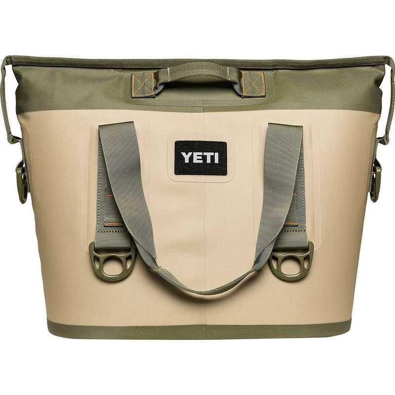 Hopper Two 20 in Field Tan and Blaze Orange by YETI