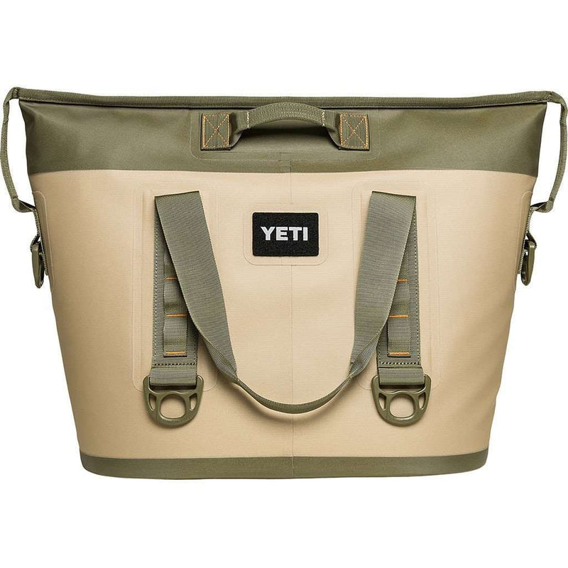 Coolers - Hopper Two 30 In Field Tan And Blaze Orange By YETI
