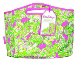 Coolers - Insulated Beverage Bucket In Elephant Ears By Lilly Pulitzer