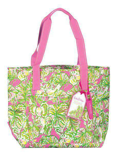 Coolers - Insulated Cooler In Trippin' And Sippin' By Lilly Pulitzer