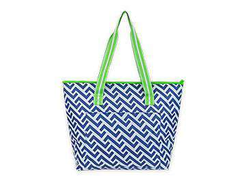 Nautical Tide Cooler Tote by All for Color