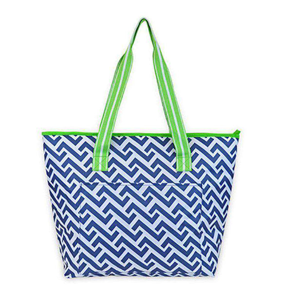 Nautical Tide Cooler Tote by All For Color - FINAL SALE