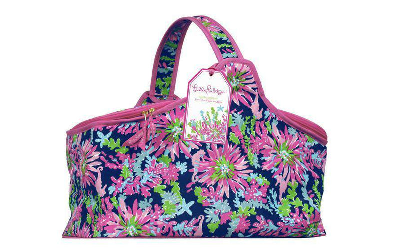 Coolers - Party Cooler In Navy Trippin' And Sippin' By Lilly Pulitzer