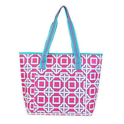 Coolers - Pink Charmer Cooler Tote By All For Color - FINAL SALE