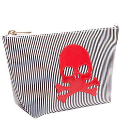 Avery Case in Black Stripe with Red Skull by Lolo