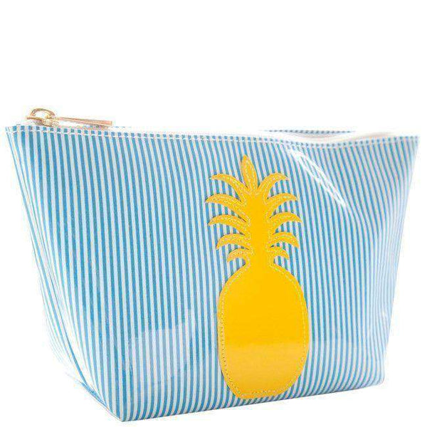 Avery Case in Blue Stripe with Yellow Pineapple by Lolo