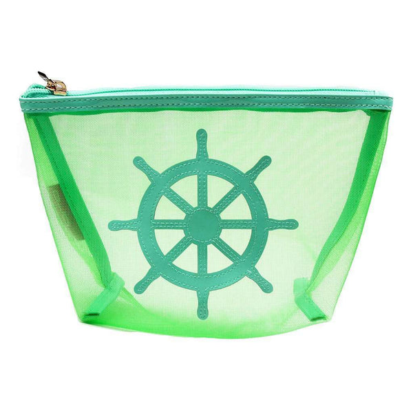 Medium Mesh Avery Case in Green with Captain's Wheel by Lolo
