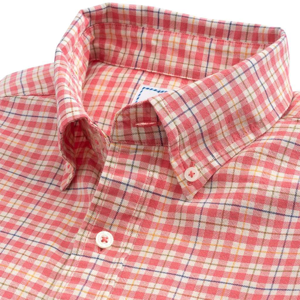 Course Plaid Oxford Sport Shirt by Southern Tide