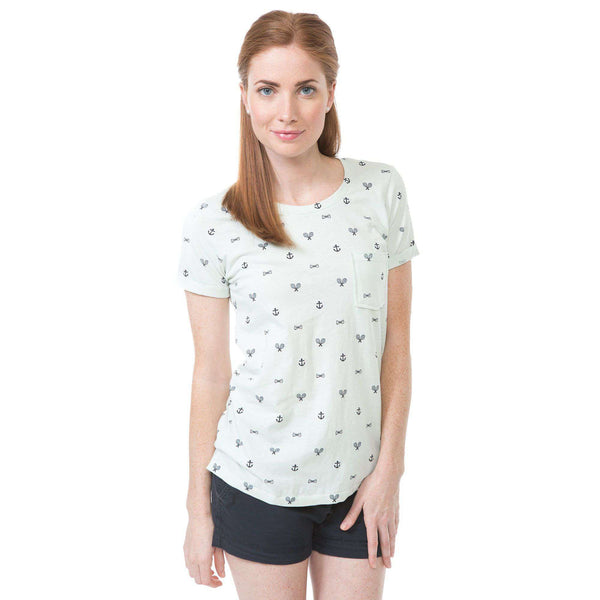 Critter Tee in Hushed Green by Southern Proper