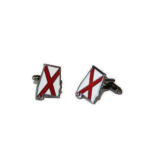 Cufflinks - Alabama Traditional Cufflinks By State Traditions