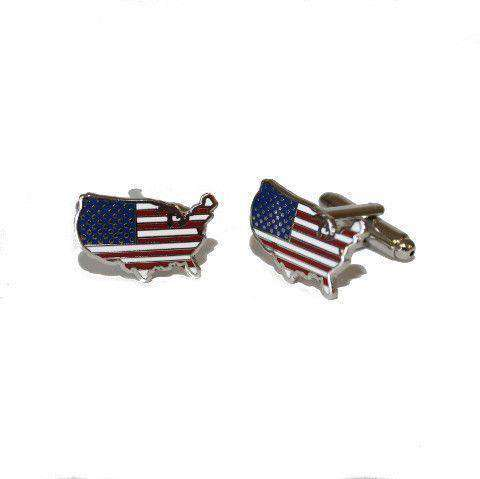 America Traditional Cufflinks by State Traditions - Country Club Prep
