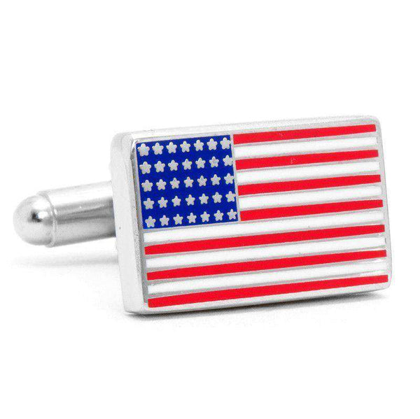 Cufflinks - American Flag Cufflinks In Red White And Blue By CufflinksInc