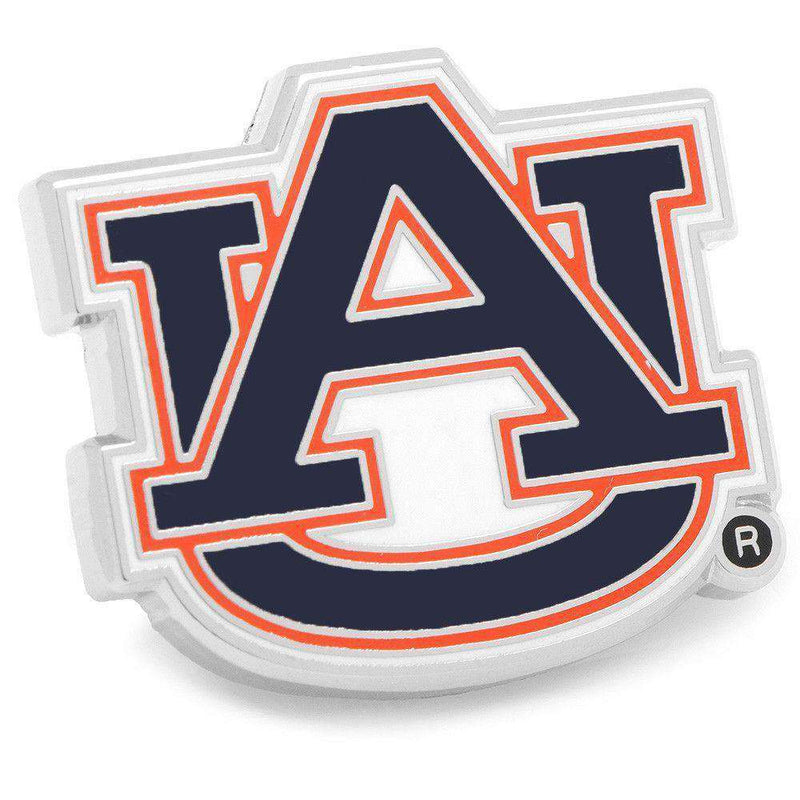 Cufflinks - Auburn Lapel Pin In Navy By CufflinksInc