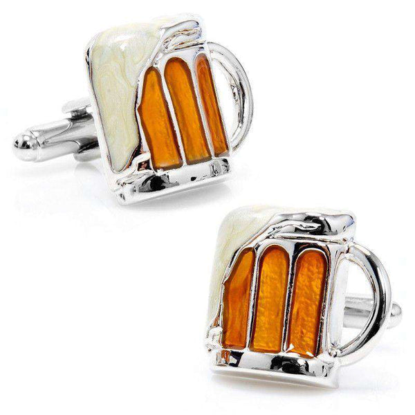 Draught Beer Cufflinks by CufflinksInc