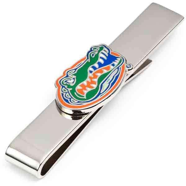 Florida Gators Tie Bar in Silver by CufflinksInc