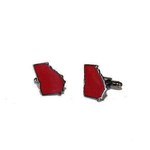 Georgia Athens Cufflinks by State Traditions - Country Club Prep