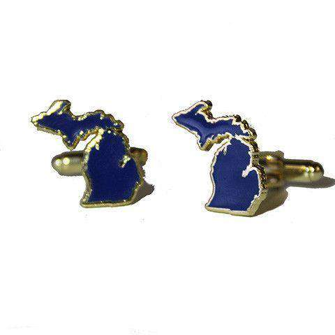 Michigan Ann Arbor Cufflinks by State Traditions