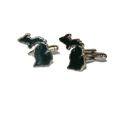 Michigan East Lansing Cufflinks by State Traditions