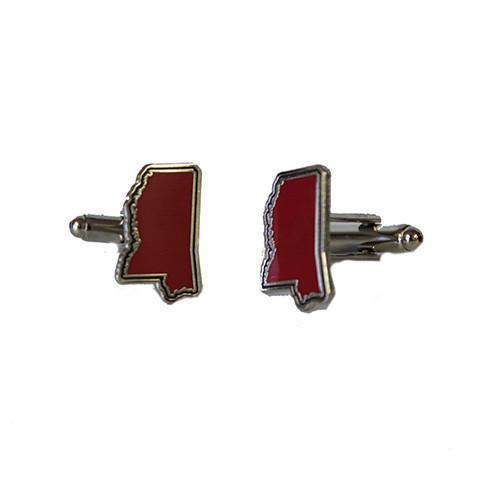 Mississippi Oxford Cufflinks by State Traditions