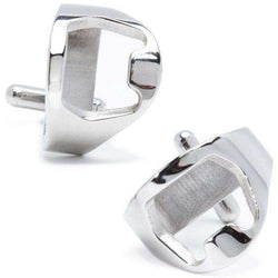 Cufflinks - Stainless Steel Bottle Opener Cufflinks By CufflinksInc