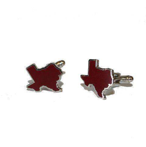 Texas College Station Cufflinks by State Traditions - FINAL SALE