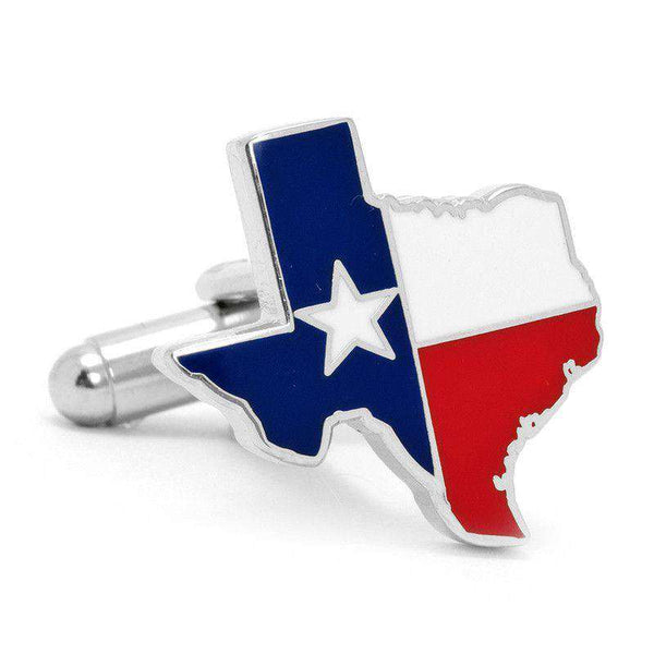 Texas Flag Cufflinks in Red White and Blue by CufflinksInc - FINAL SALE