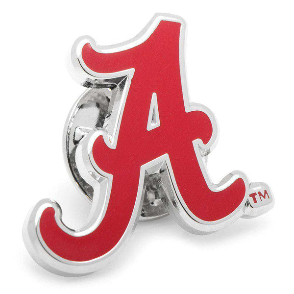 University of Alabama Lapel Pin in Crimson by CufflinksInc