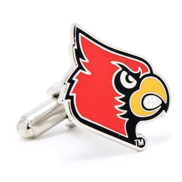 University of Louisville Cardinals Cufflinks by CufflinksInc