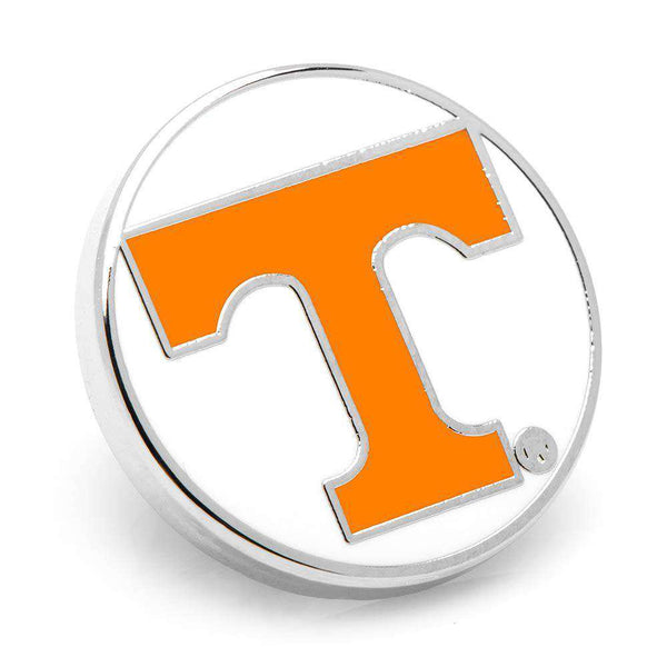 University of Tennessee Lapel Pin in White by CufflinksInc