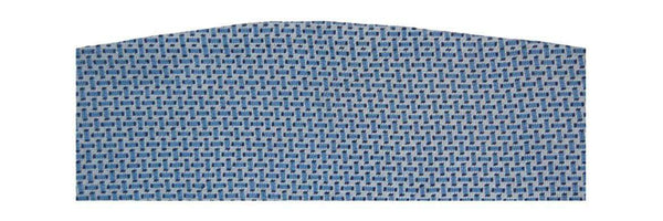 Cummerbund Sets - Basketweave Needlepoint Cummerbund In Blue By Smathers & Branson