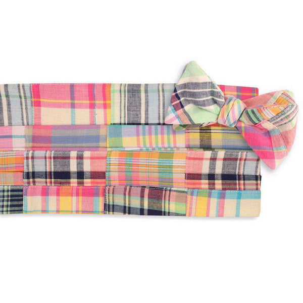 Crawdad Patchwork Cummerbund Set by High Cotton