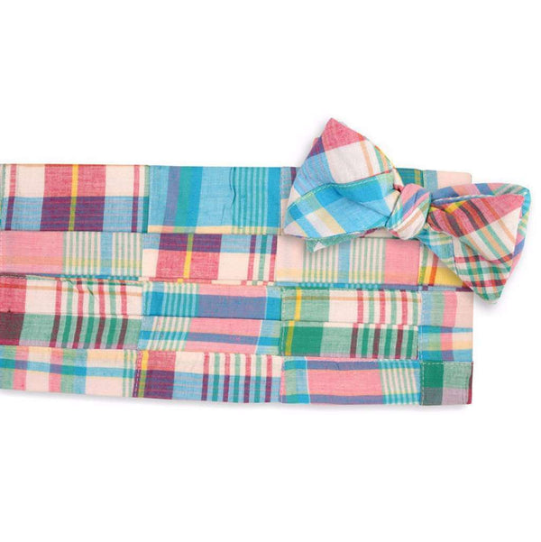 Mulligan Madras Cummerbund Set by High Cotton