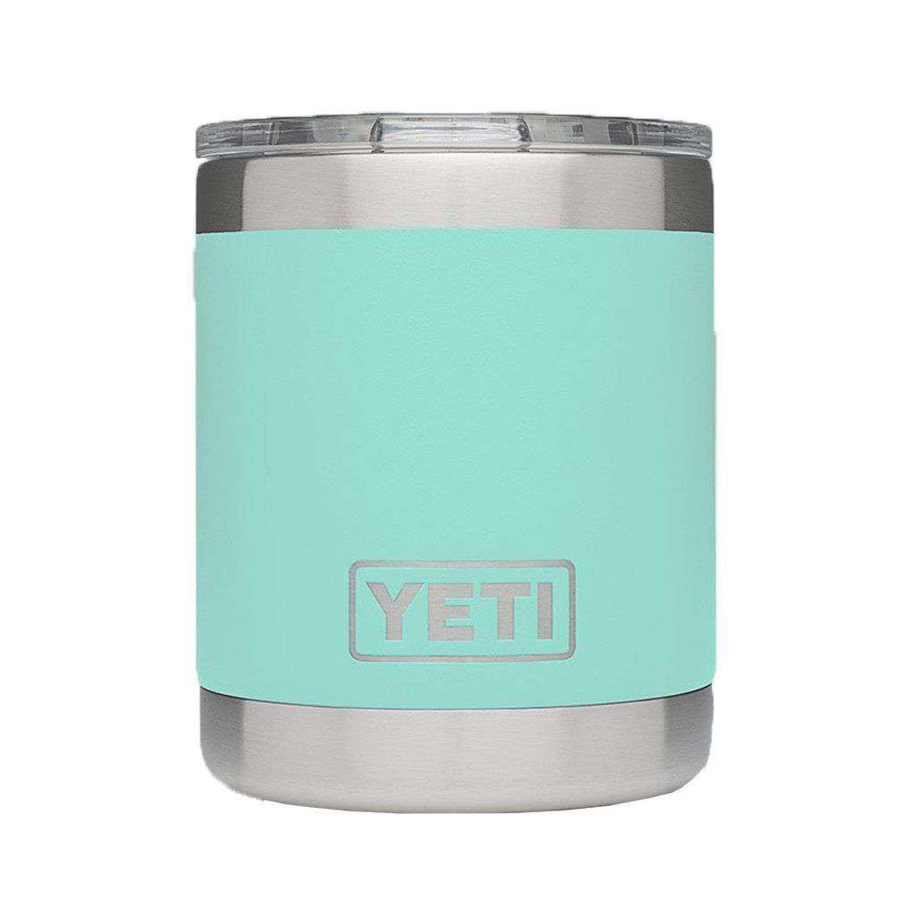 Cups & Glassware - 10 Oz. Rambler Lowball In Seafoam By YETI