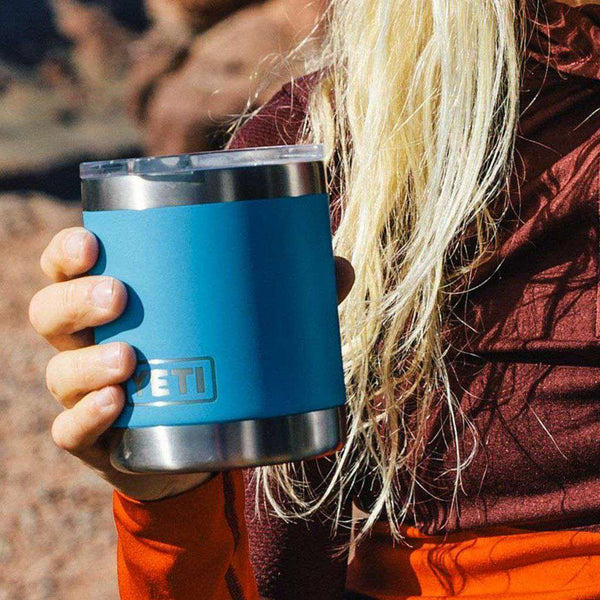 Cups & Glassware - 10 Oz. Rambler Lowball In Tahoe Blue By YETI