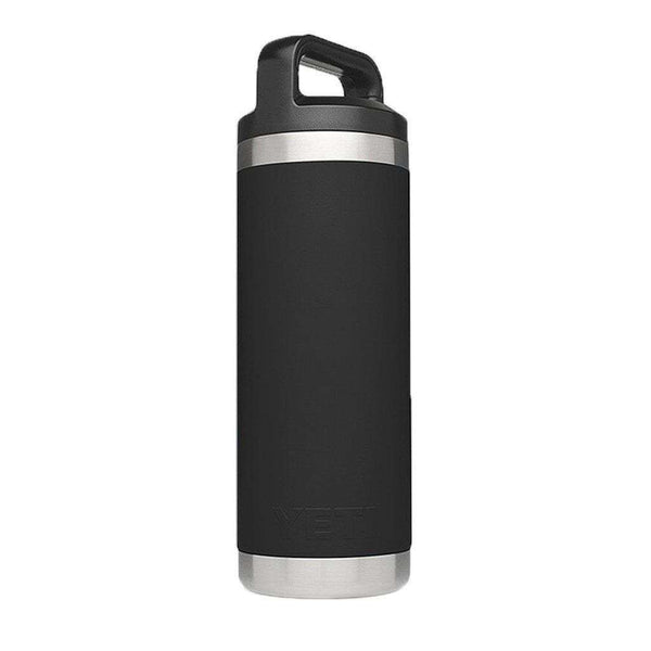 Cups & Glassware - 18 Oz. Rambler Bottle In Black By YETI