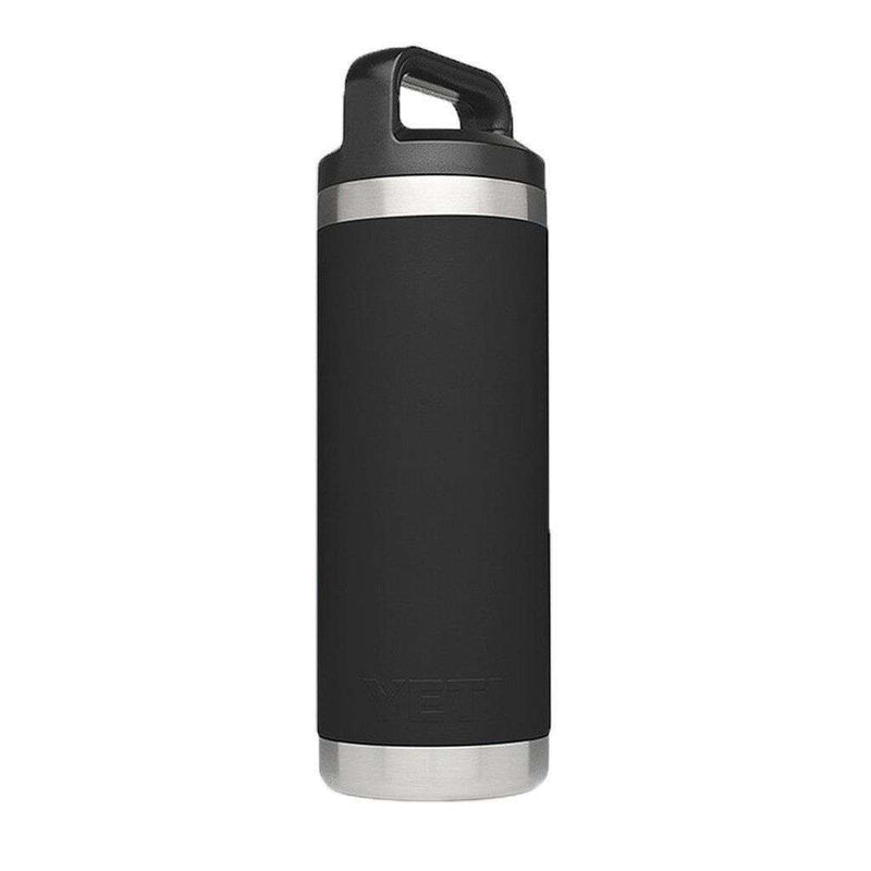 18 oz. Rambler Bottle in Black by YETI