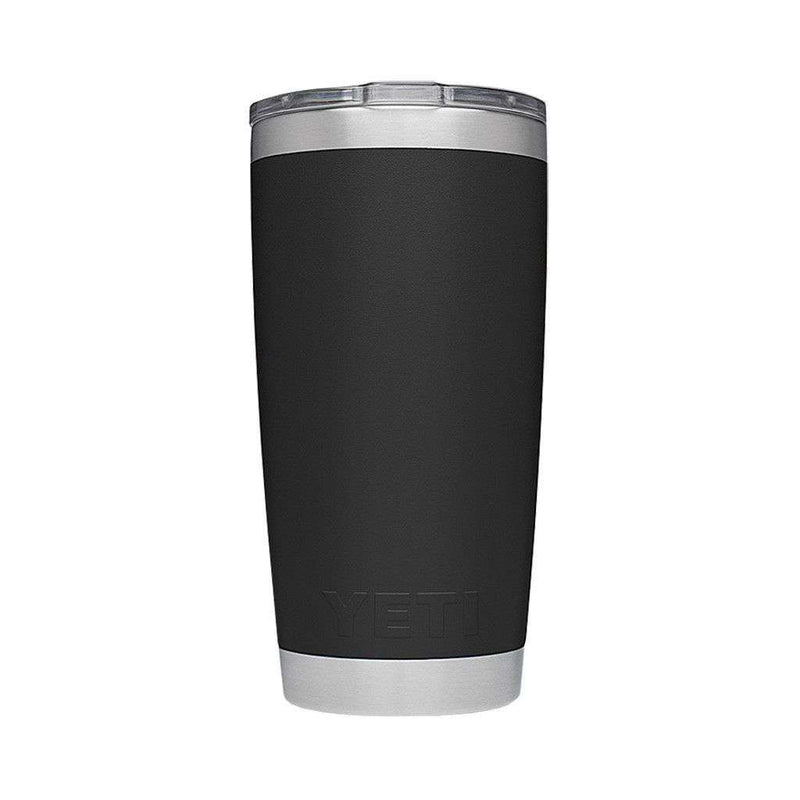 20 oz. DuraCoat Rambler Tumbler in Black by YETI