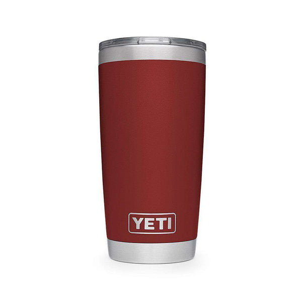 Cups & Glassware - 20 Oz. DuraCoat Rambler Tumbler In Brick Red With Magslider™ Lid By YETI